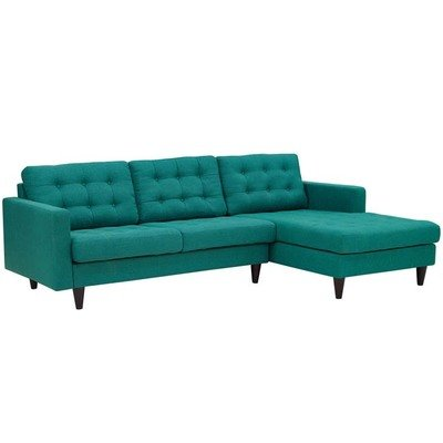 Empire Right-Facing Sectional Sofa | 2 Colors