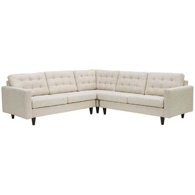 Empire 3 Piece Sectional Sofa | 7 Colors