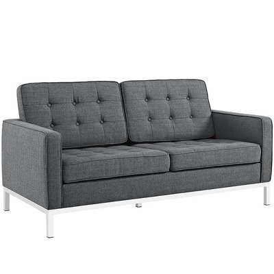 Printers Row Loveseat / 5 Colors