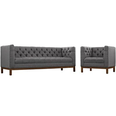 Wrigleyville Sofa & Armchair Set / 3 Colors