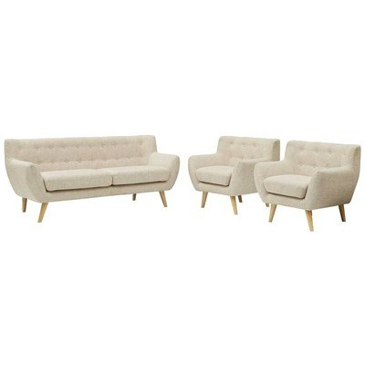 Grant Park Sofa & 2 Armchair Set |  6 Colors