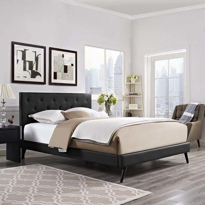 Kirsten King Platform Bed | 2 Colors