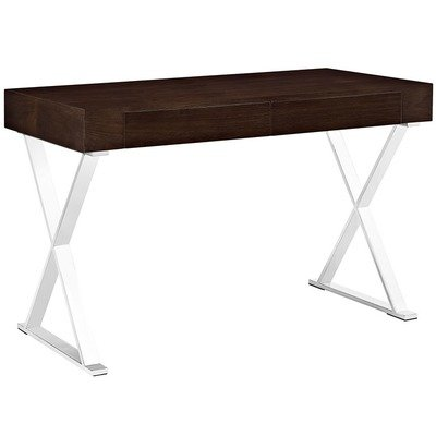 Madison Modern Office Desk / Walnut or White