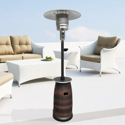 Tall Wicker Patio Heater