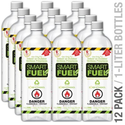 Bio-Ethanol Liquid Fuel - 12 Pack