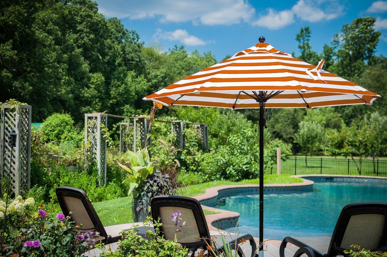 Montrose Collection Fiberglass Market Umbrella  | available in 14 colors