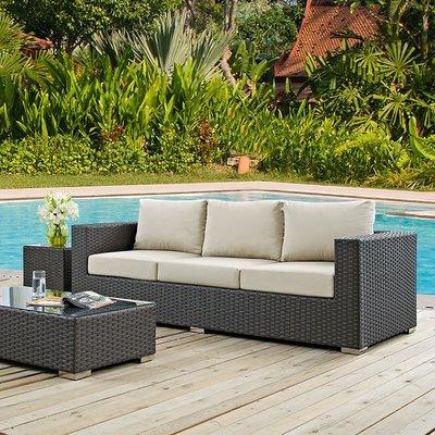 Soho Patio Sofa with Sunbrella® Cushion