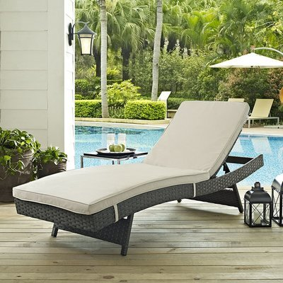 Soho Patio Chaise with Sunbrella® Cushion | 5 Colors