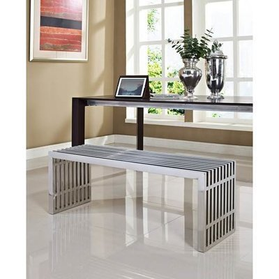 Gaines Stainless Steel Medium Bench