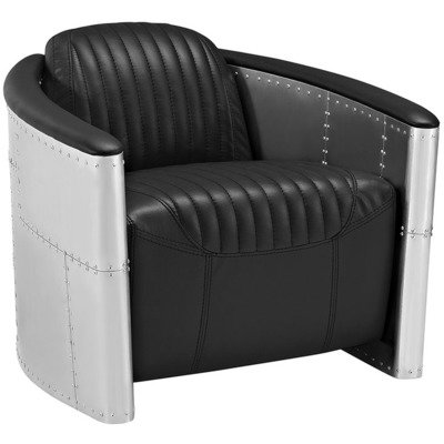 Aviator Lounge Chair / Brown or Black
