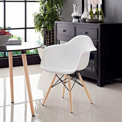 Power Dining Arm Chair |  5 Color Options