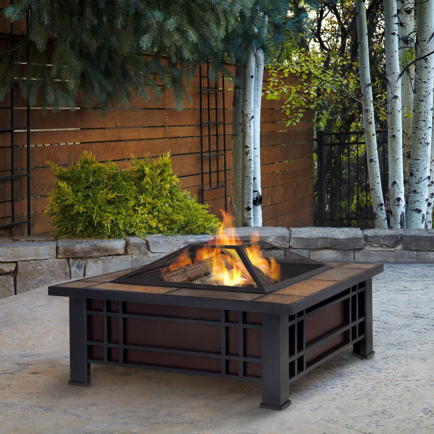Monroe Wood Burning Firepit