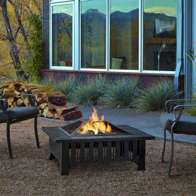 Muncie Wood Burning Firepit