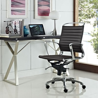 Jaipur Office Chair | Brown