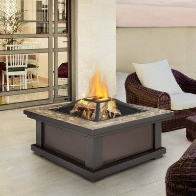 Adler Wood Burning Firepit
