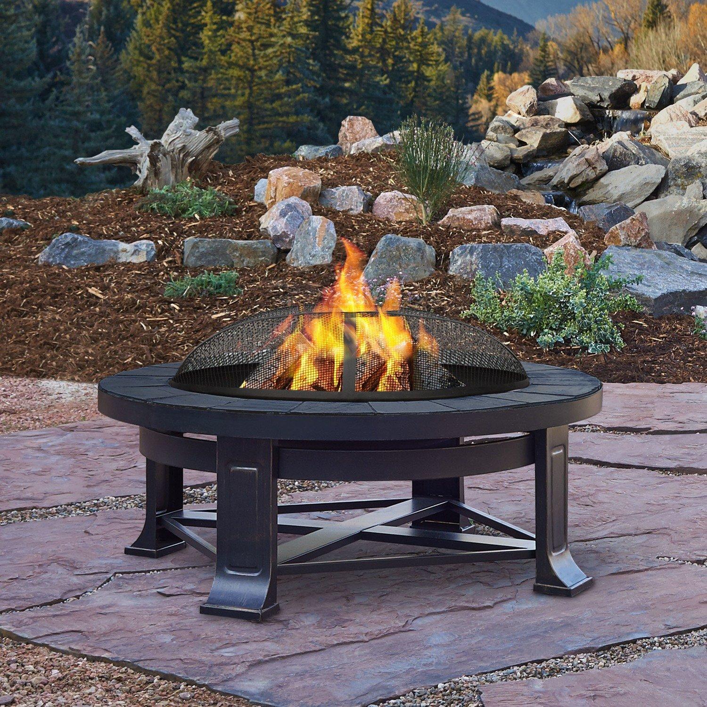 Naperville Wood Burning Firepit
