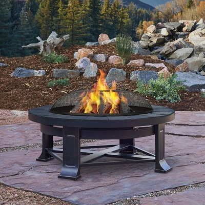 Naperville Wood Burning Firepit