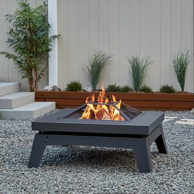 Bloomingdale Wood Burning Firepit