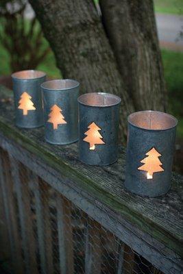 Tree Luminary / Set of 4
