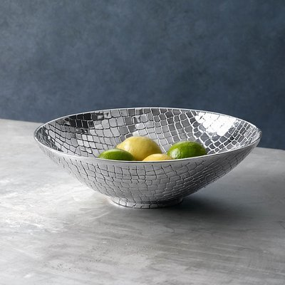 Croc Silver Bowl