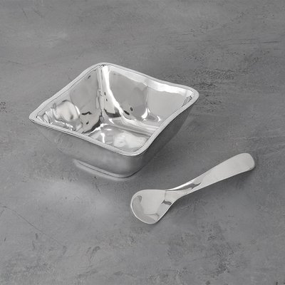Soho Square Bowl with Spoon / Set of 2