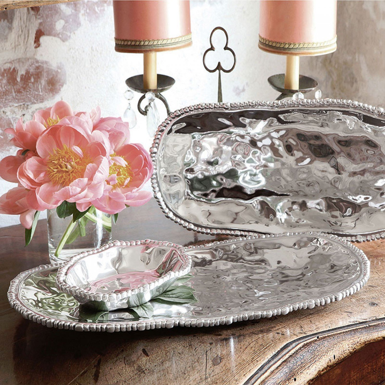 Organic Pearl Small Tray / Set of 2