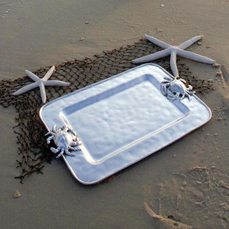 Ocean Crab Rectangular Tray