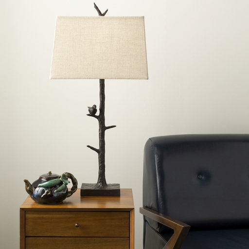 Weber Table Lamp / Charcoal