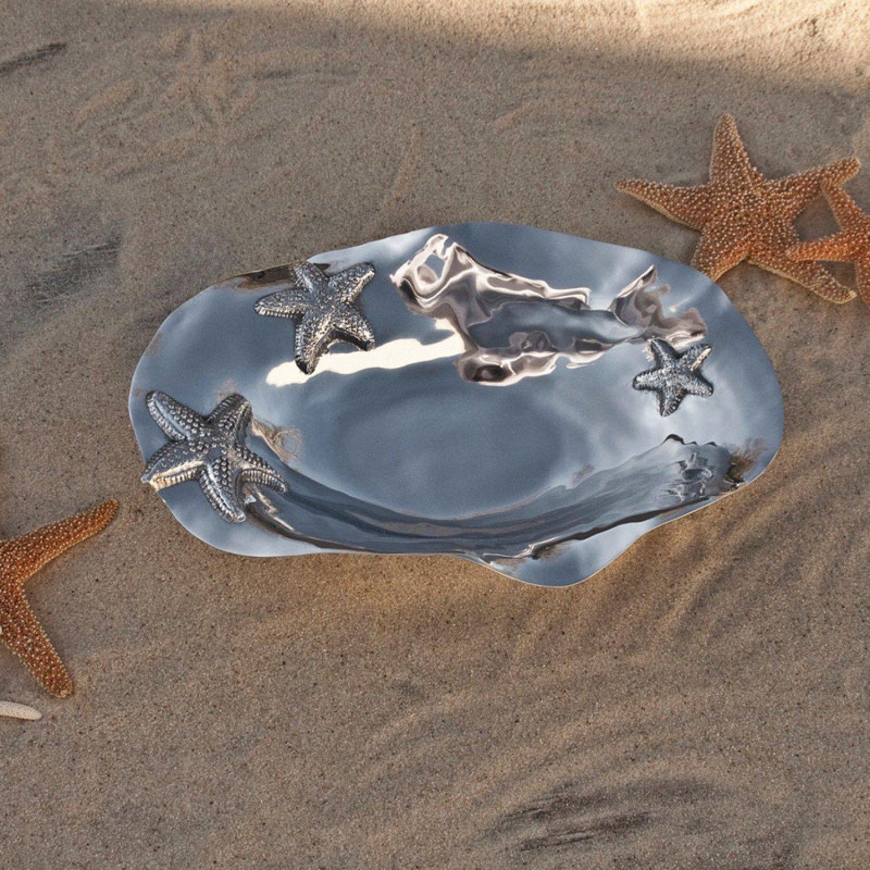 Ocean Starfish Oval Bowl