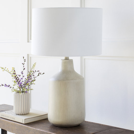 Foreman Table Lamp / Light Grey