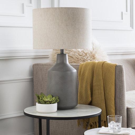 Foreman Table Lamp / Medium Grey
