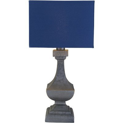 Davis Outdoor Table Lamp | Navy