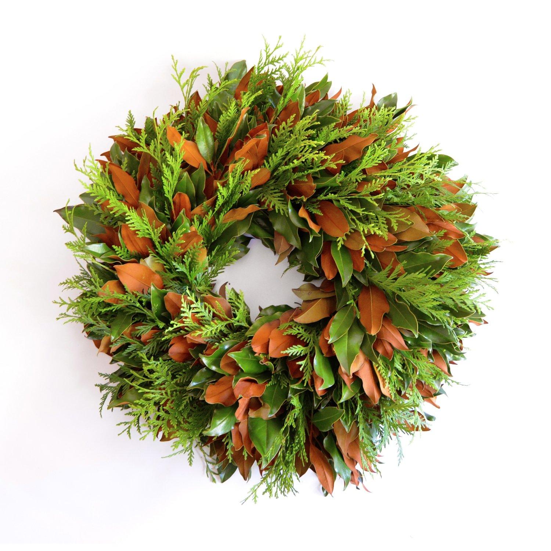 Emerald Lace Wreath / 3 Sizes