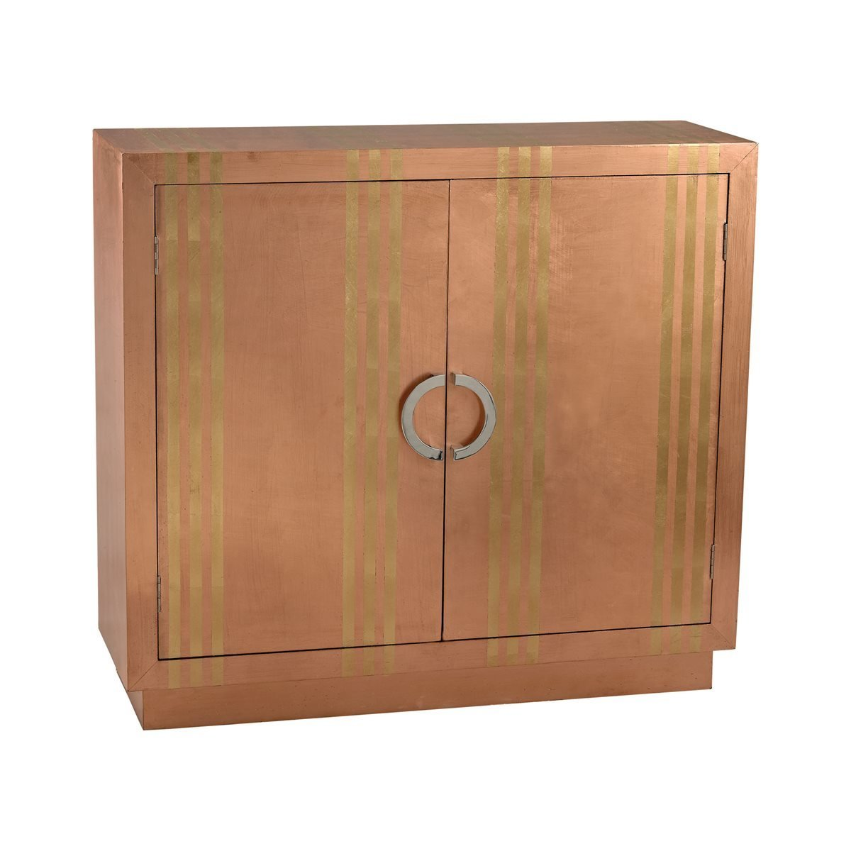 Gold Stripe Copper Cabinet