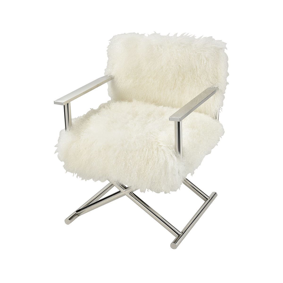 Hair to the Throne Sheepskin Chair