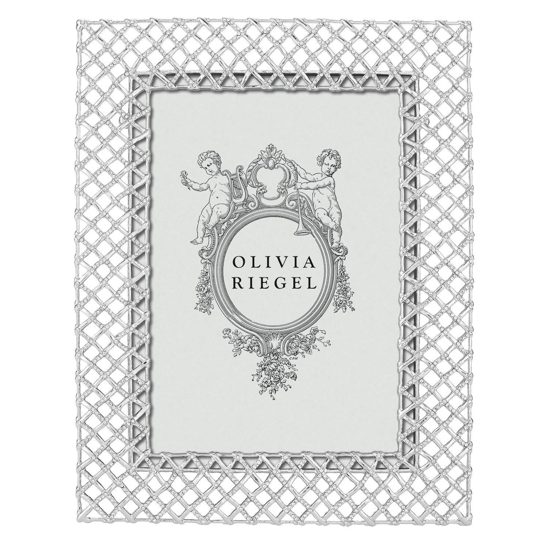 "Olivia Riegel Silver Tristan 5"" x 7"" Frame / Set of 2"
