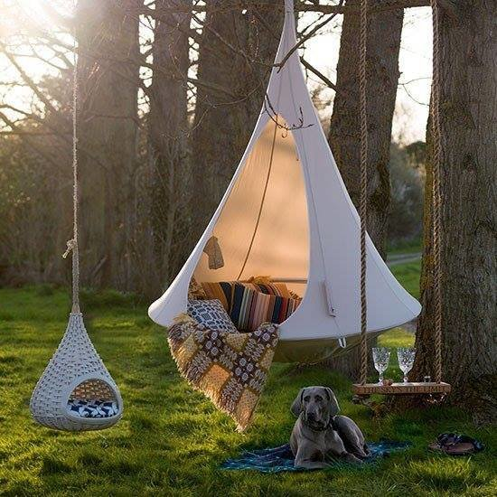 Single Cacoon Hammock / 7 Colors