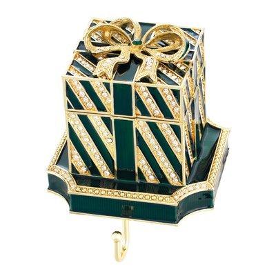 Olivia Riegel Green Gift Box Stocking Holder