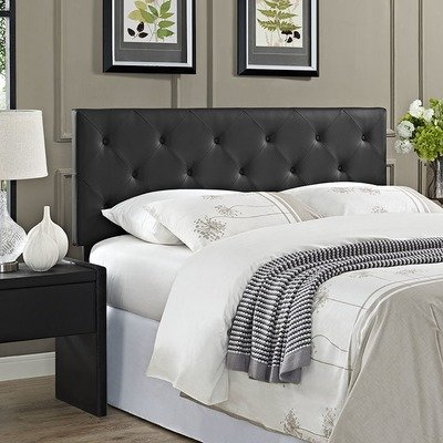 Terri Queen Vinyl Headboard | 2 Colors