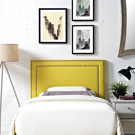 Jessie Twin Headboard / 7 Colors