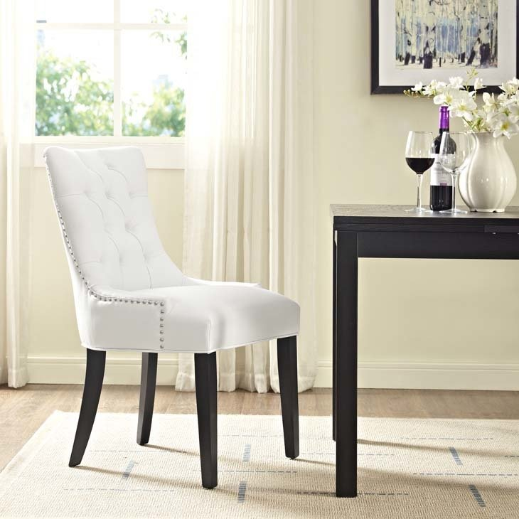 Regal Dining Chair / White