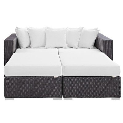 Hinsdale Patio Sectional Daybed Set | 7 Colors