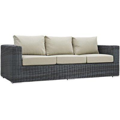 North Avenue Patio Sofa with Sunbrella® Cushion