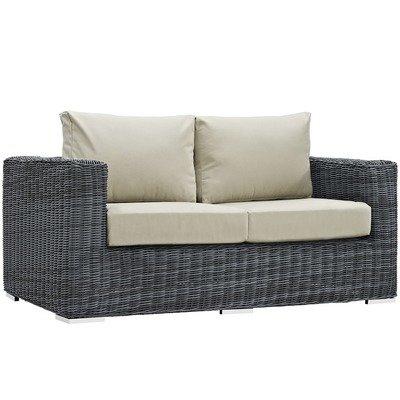 North Avenue Patio Loveseat with Sunbrella® Cushion