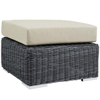 North Avenue Patio Ottoman with Sunbrella® Cushion