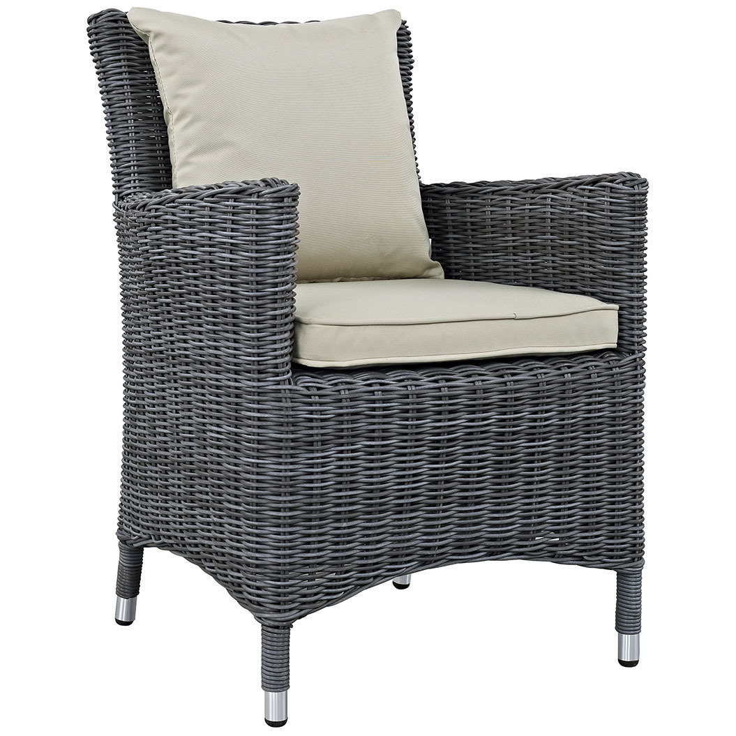 North Avenue Patio Dining Chair with Sunbrella® Cushion
