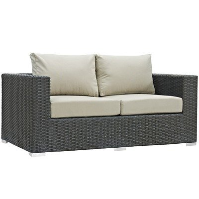 Soho Patio Loveseat with Sunbrella® Cushion