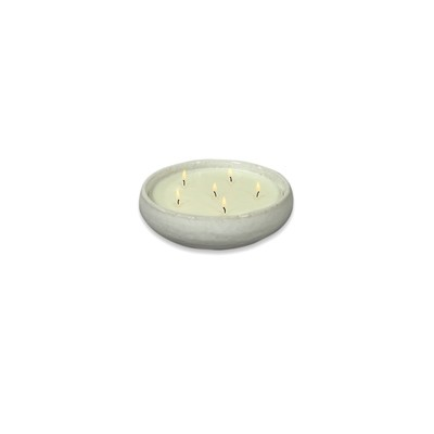 Star 6 Wick Candle | White