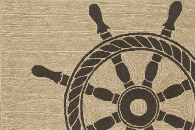 Ship Wheel Natural