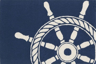 Ship Wheel Navy